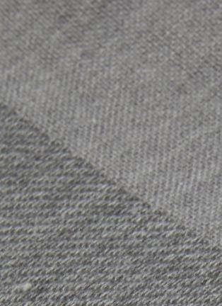 Detail View - Click To Enlarge - UCHINO - Zen Charcoal Gauze & Pile Wash Cloth – Dark Grey