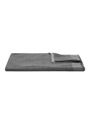 Main View - Click To Enlarge - UCHINO - Zen Charcoal Gauze & Pile Guest Towel – Dark Grey