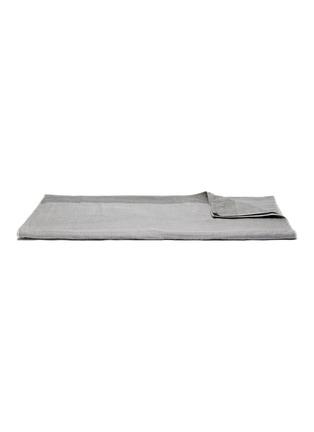 Main View - Click To Enlarge - UCHINO - Zen Charcoal Gauze & Pile Bath Towel – Grey