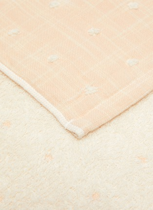 Detail View - Click To Enlarge - UCHINO - Grass-stained OG Gauze Wash Cloth – Yellow