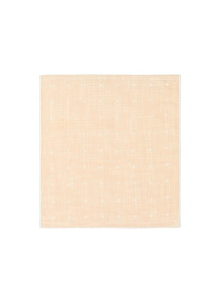 Main View - Click To Enlarge - UCHINO - Grass-stained OG Gauze Wash Cloth – Yellow