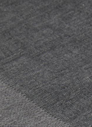 Detail View - Click To Enlarge - UCHINO - Zen Charcoal Gauze & Pile Bath Towel – Dark Grey