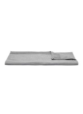 Main View - Click To Enlarge - UCHINO - Zen Charcoal Gauze & Pile Bath Towel – Dark Grey