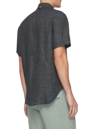 Back View - Click To Enlarge - RAG & BONE - 'Fit 2 Tomlin' linen shirt