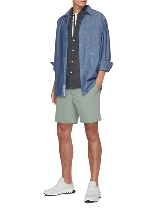 Figure View - Click To Enlarge - RAG & BONE - 'Fit 2 Tomlin' linen shirt