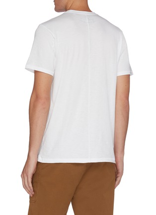 Back View - Click To Enlarge - RAG & BONE - New York Embroidered Jersey T-shirt