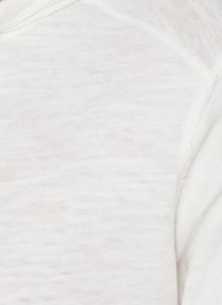 - RAG & BONE - Flame cotton hoodie