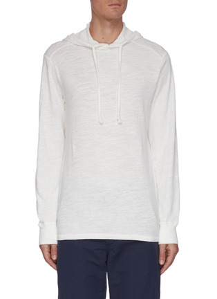 Main View - Click To Enlarge - RAG & BONE - Flame cotton hoodie
