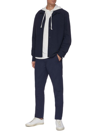 Figure View - Click To Enlarge - RAG & BONE - Flame cotton hoodie
