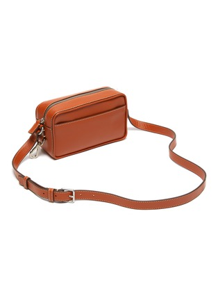 Detail View - Click To Enlarge - JACQUEMUS - 'Le Baneto' leather crossbody bag