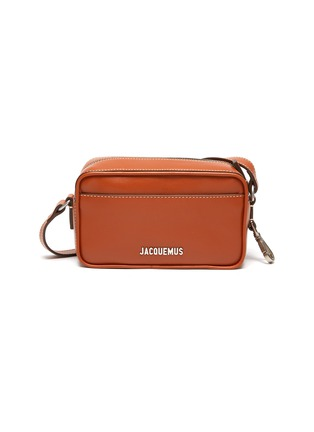 Main View - Click To Enlarge - JACQUEMUS - 'Le Baneto' leather crossbody bag