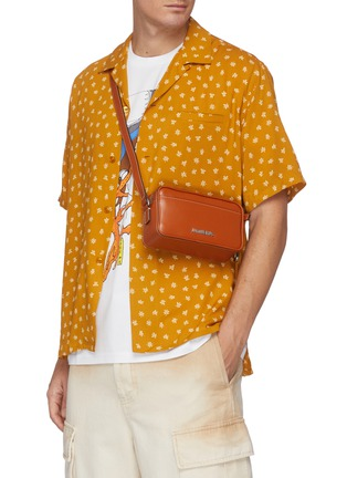 Figure View - Click To Enlarge - JACQUEMUS - 'Le Baneto' leather crossbody bag