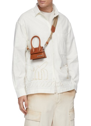 Figure View - Click To Enlarge - JACQUEMUS - 'Le Chiquito' top handle bag