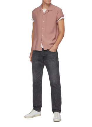 Figure View - Click To Enlarge - RAG & BONE - 'Avery' Short Sleeve Shirt