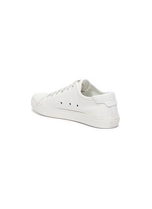 - SAINT LAURENT - 'Malibu' logo print sole leather sneakers