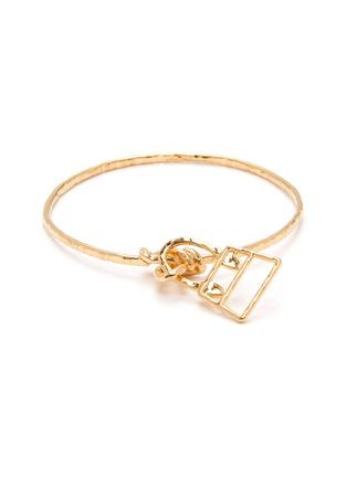 Main View - Click To Enlarge - JACQUEMUS - 'Le Bracelet Chiquita' bag charm bangle