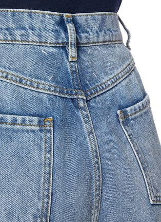 - MAISON MARGIELA - Side Cut-out Whiskered Denim Jeans