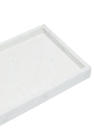 Detail View - Click To Enlarge - LANE CRAWFORD - Volakas Marble vanity tray