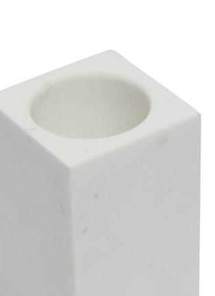 Detail View - Click To Enlarge - LANE CRAWFORD - Rectangular Volakas marble tumbler