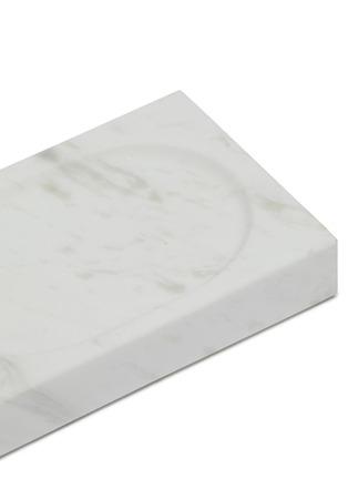 Detail View - Click To Enlarge - LANE CRAWFORD - Volakas marble soap dish