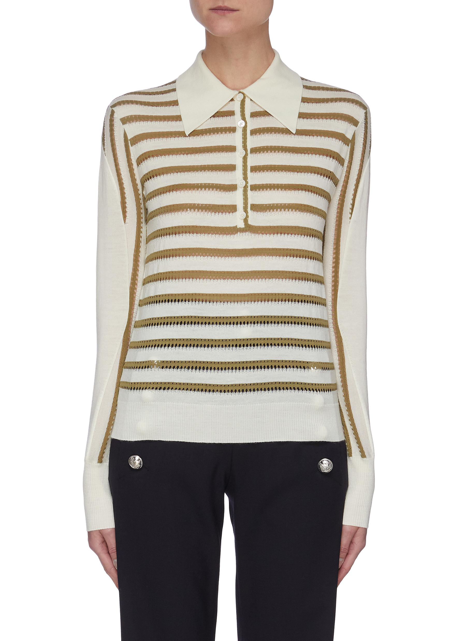 Chloé OPEN STITCH SWEATER