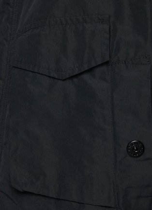- STONE ISLAND - Patch Pocket Hooded Parka