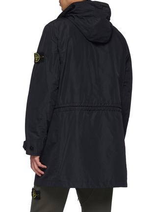 Back View - Click To Enlarge - STONE ISLAND - Patch Pocket Hooded Parka