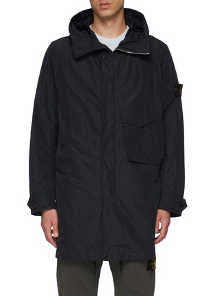 Main View - Click To Enlarge - STONE ISLAND - Patch Pocket Hooded Parka