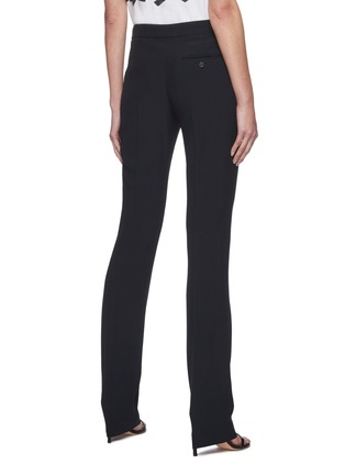 Back View - Click To Enlarge - ALEXANDER MCQUEEN - Slim Fit Suiting Pants
