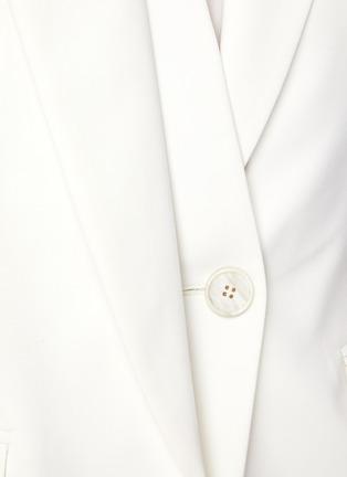 - ALEXANDER MCQUEEN - Asymmetric Single-breast Blazer