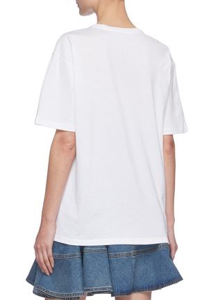 Back View - Click To Enlarge - ALEXANDER MCQUEEN - Logo print T-shirt