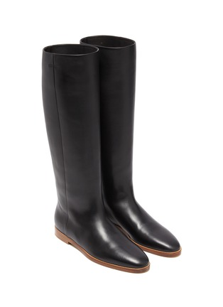 Detail View - Click To Enlarge - GABRIELA HEARST - Skye' leather riding boots