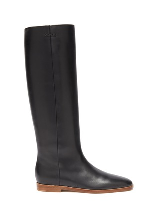 Main View - Click To Enlarge - GABRIELA HEARST - Skye' leather riding boots
