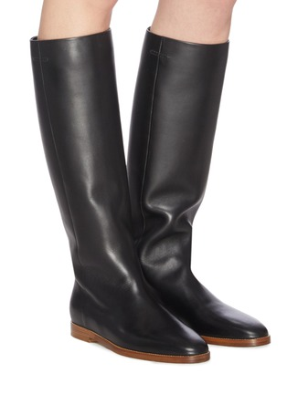 Figure View - Click To Enlarge - GABRIELA HEARST - Skye' leather riding boots