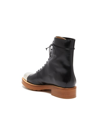 - GABRIELA HEARST - Riccardo' metal toe leather boots