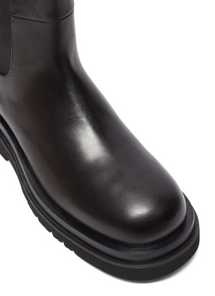 Detail View - Click To Enlarge - PEDDER RED - Westley' Platform Leather Boots