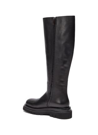 - PEDDER RED - Westley' Platform Leather Boots