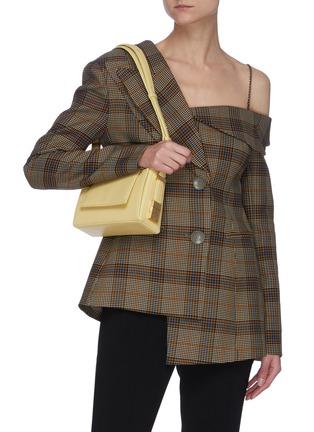 Figure View - Click To Enlarge - OSOI - 'Mini Mag' asymmetric baguette shoulder bag
