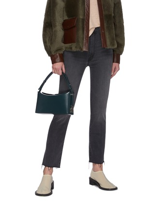 Figure View - Click To Enlarge - OSOI - 'Sandy' leather shoulder bag