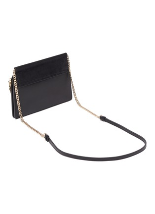 Detail View - Click To Enlarge - CHLOÉ - 'Faye' mini chain bag