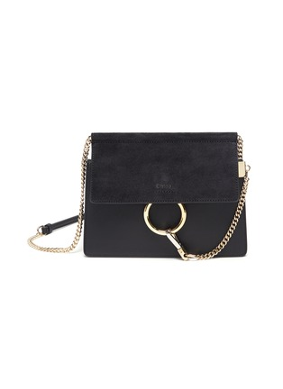 Main View - Click To Enlarge - CHLOÉ - 'Faye' mini chain bag