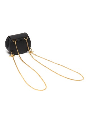 Detail View - Click To Enlarge - CHLOÉ - 'Drew' leather crossbody backpack