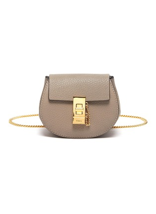 Main View - Click To Enlarge - CHLOÉ - 'Drew' leather crossbody backpack