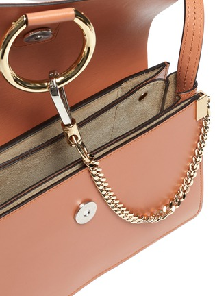 Detail View - Click To Enlarge - CHLOÉ - 'Faye' small chain shoulder bag