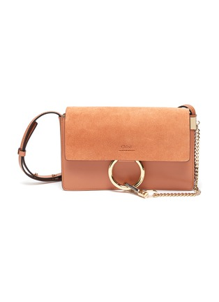 Main View - Click To Enlarge - CHLOÉ - 'Faye' small chain shoulder bag