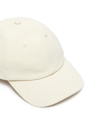 Detail View - Click To Enlarge - JACQUEMUS - 'La Casquette' logo embroidered baseball cap