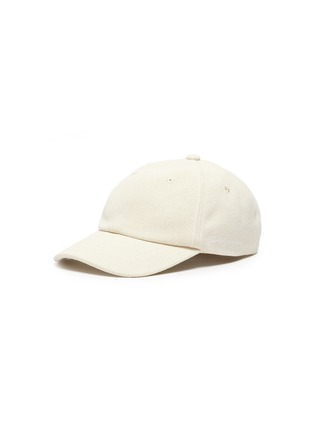 Main View - Click To Enlarge - JACQUEMUS - 'La Casquette' logo embroidered baseball cap