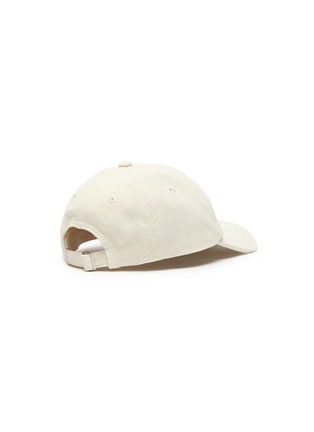 Figure View - Click To Enlarge - JACQUEMUS - 'La Casquette' logo embroidered baseball cap