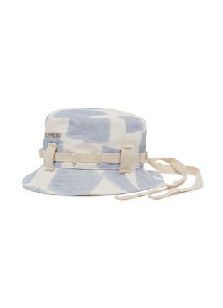 Main View - Click To Enlarge - JACQUEMUS - Le Bob Grain' colour splash canvas bucket hat