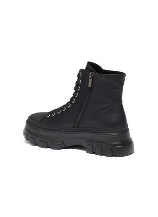- PEDDER RED - Hazel' Tread Platform Sole Leather Combat Boots